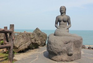Jeju Mermaid Statue