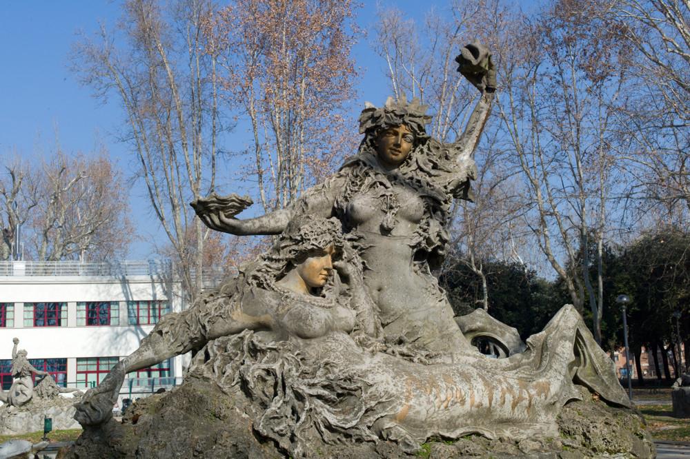 Mermaids in Montagnola Park, Bologna