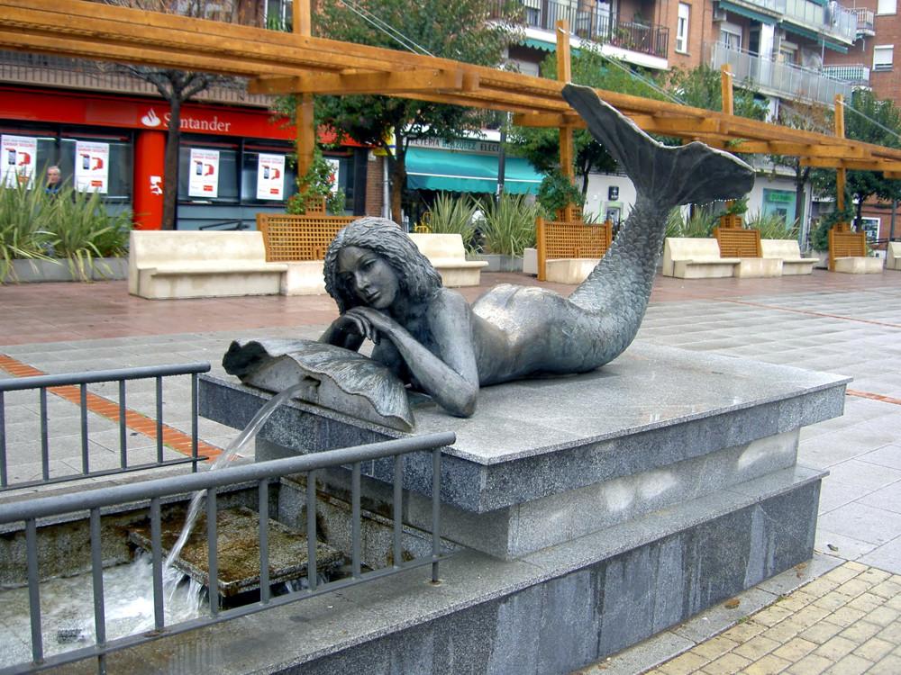 Sirena at Plaza Immaculada