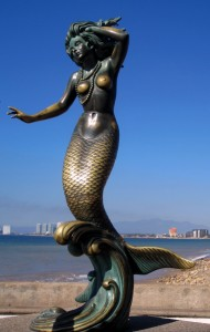 Nereida mermaid sculpture
