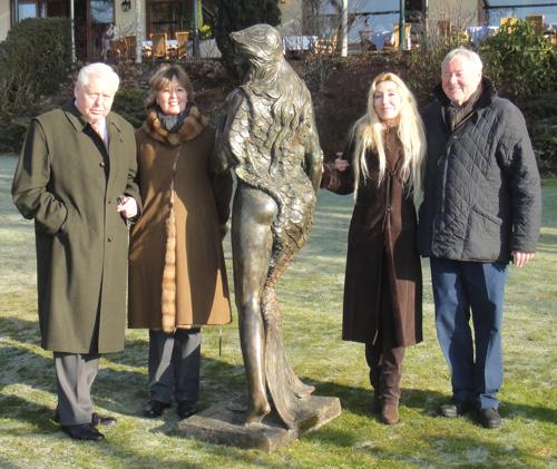 AMA Victoria with Mr. Mittermair, Maria Noor, Amaryllis and Thomas Noor