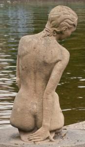 """Miranda"" Mermaid Statue in Lancashire."
