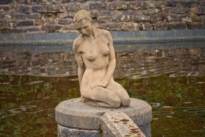 """Miranda"" Mermaid Statue in Lancashire."