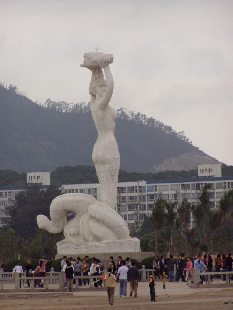 Shekou Mermaid Statue in Shenzhen