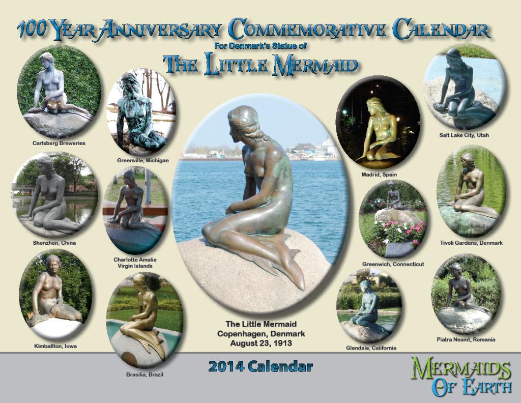 The Little Mermaid Centennial Calendar